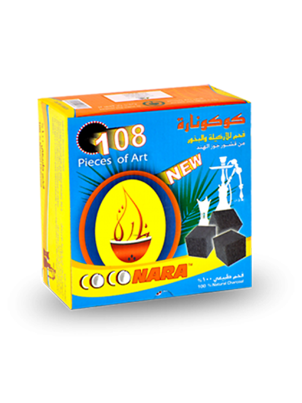 CocoNara Charcoal 108pc Box (Free Shipping)