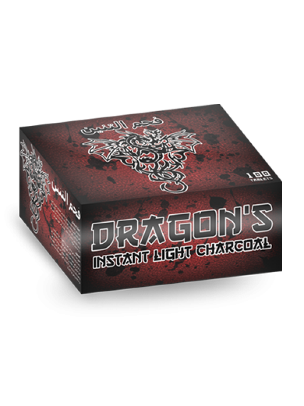 Dragon's Instant Light Charcoal Box 35mm - 20 Rolls (Free Shipping)