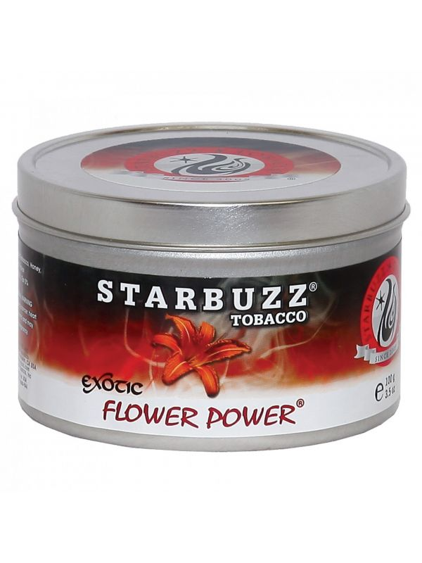 Starbuzz Flower Power Shisha Tobacco (Free Shipping)