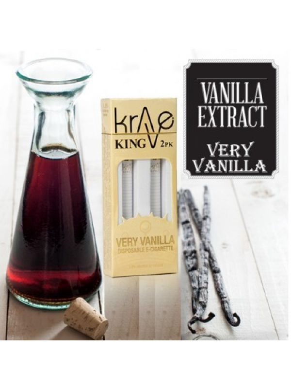 Krave King Electronic Cigarette - Vanilla