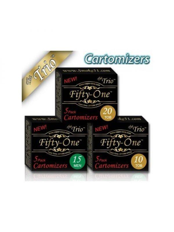 Smoke51 TRIO Cartomizers 5 Pack