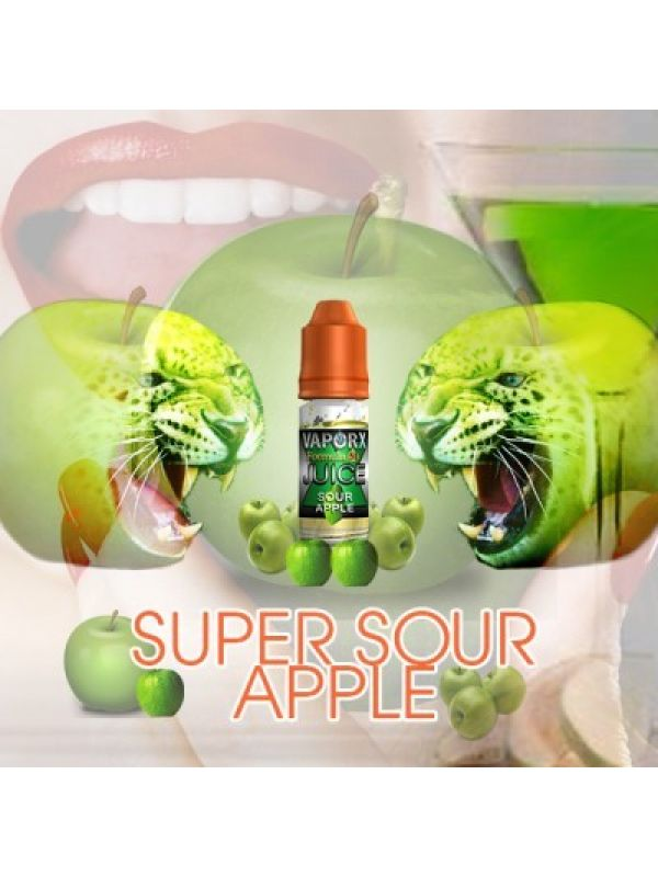 VaporX Sour Apple E-Juice
