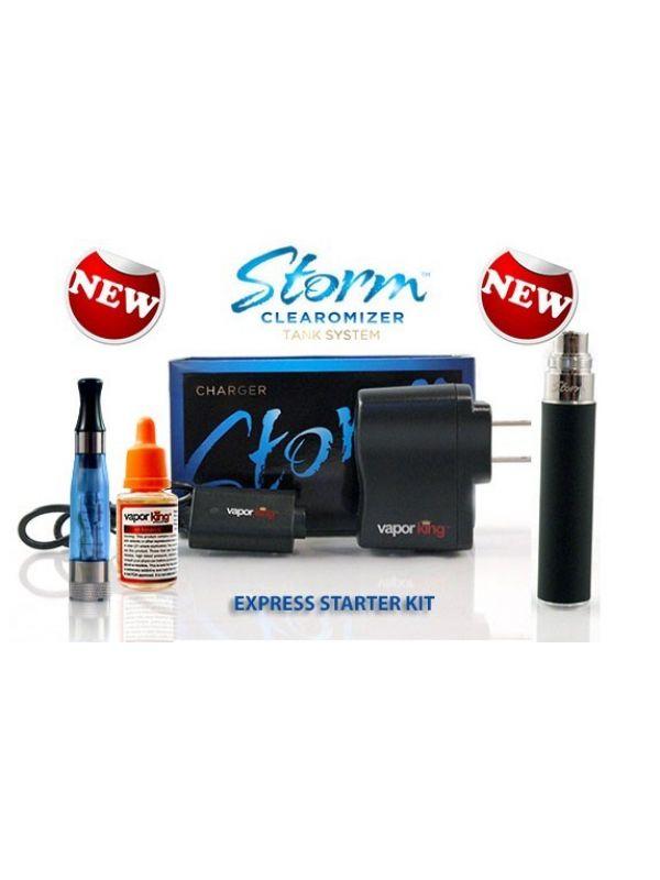 Vapor King Storm Clearomizer Express Starter Kit