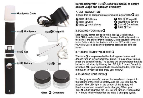 MicroG Vape - Dual Kit