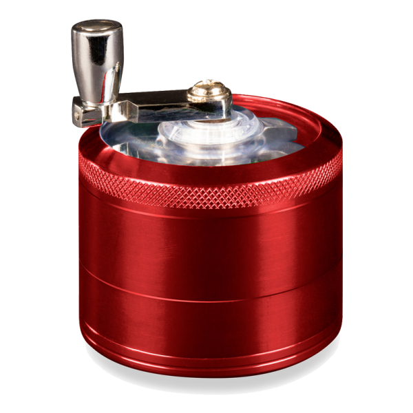 Mill Handle Grinder Red