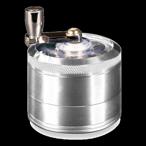 Mill Handle Grinder Silver
