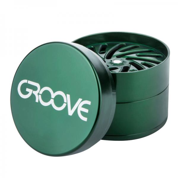 Groove Grinder Green Open