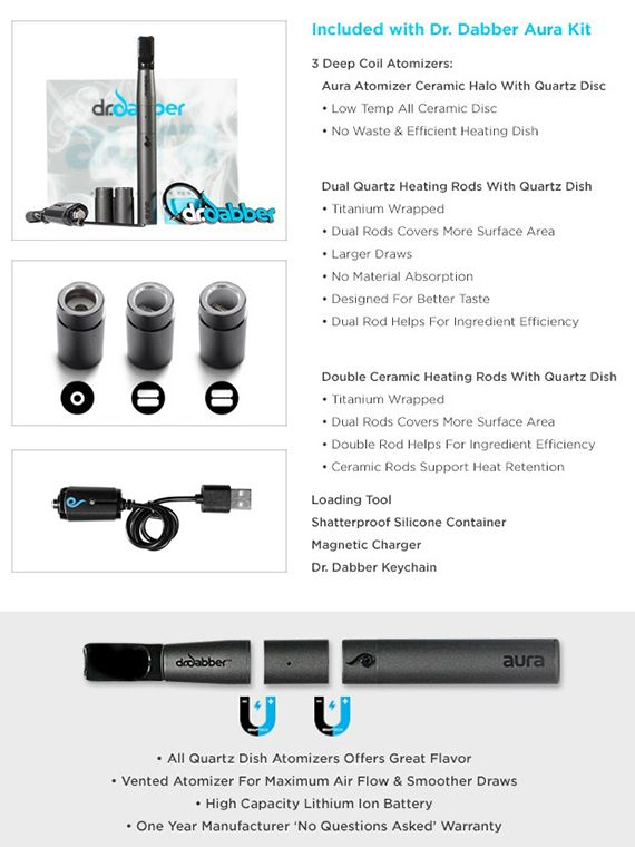 Aurora Vape Features