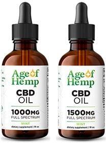 CBD Oil Tincture by Age Of Hemp