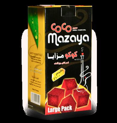 Coco Mazaya Natural Coconut Coal - 96pc