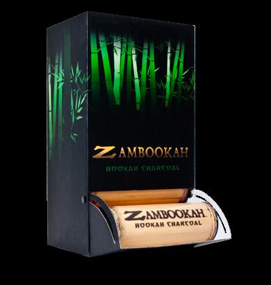 Zambookah Natural Bamboo Hookah Charcoal BOX (Free Shipping)