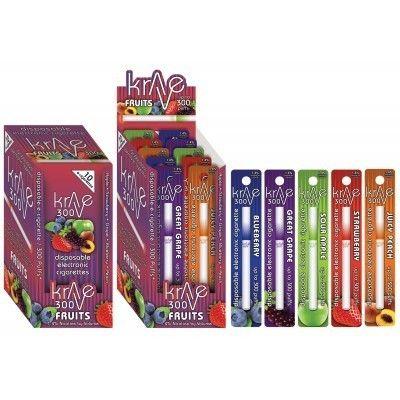 Krave Fruits Disposable E-Cigarettes