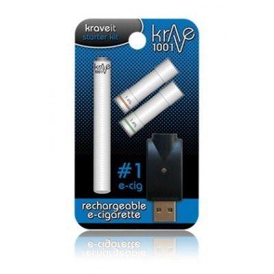 Krave Rechargeable Electronic Cigarette Kit 1001 Kit