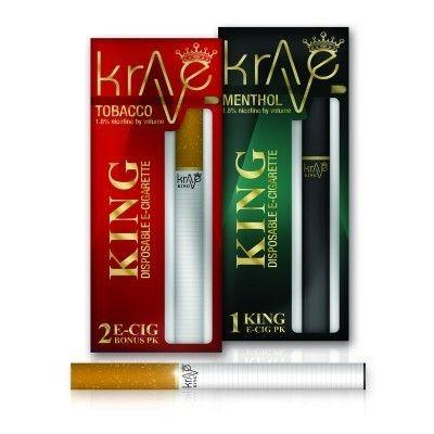 Krave King Electronic Cigarettes (24PK)