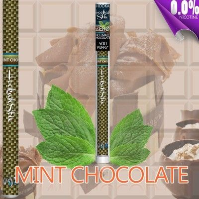 Rich Mint Chocolate EHookah Stick - Nicotine Free