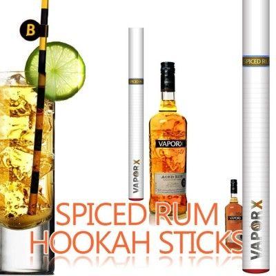 Spiced Rum EHookah Stick - Nicotine Free