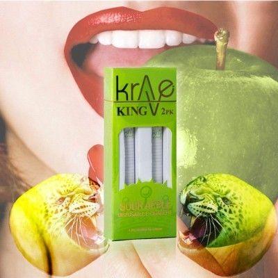 Krave King Electronic Cigarette - Sour Apple