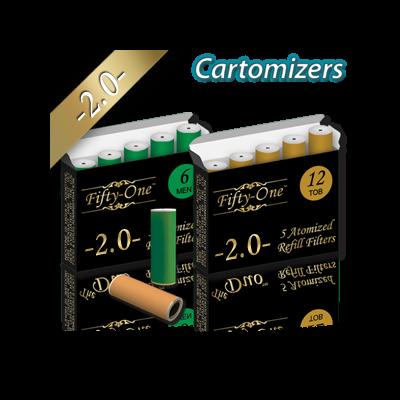Smoke51 2.0 Cartomizers 5 pack