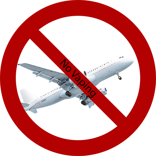 No Vaping on Airplanes