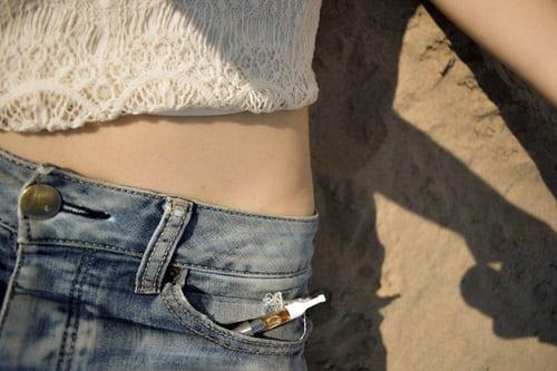 oil pen in jeans pocket