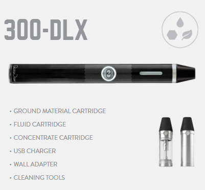 All in one QuickDraw vaporizer